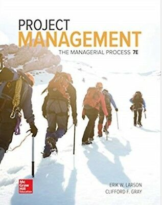 |e-Version| Project Management: The Managerial Process 7th Ed by Larson & Gray