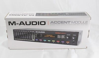 M-Audio Accent Stage Piano Sound Module with USB MIDI Hosting Synthesizer NEW