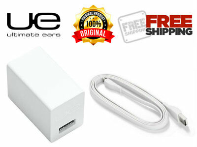 Original Ultimate Ears Charger Adapter USB Cable for UE Blast UE Boom 3 - WHITE