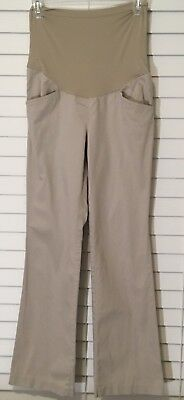 Motherhood Maternity Size XS Full Panel Khakis Career Dress Pants