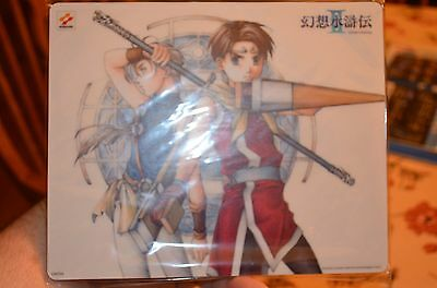 Suikoden II 2 Mousepad VERY RARE Factory Sealed  AWESOME! NOSTALGIC GREAT GIFT!