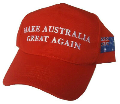 Make Australia Great Again Cap  $8
