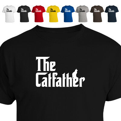 The Catfather Parody Cat Dad Gift T Shirt