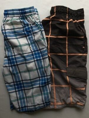 Great! Two Pairs Of Mens Size Small Swim Trunks
