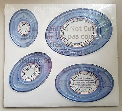 Creative Memories 'OVAL PATTERNS' Cutting Patterns and Sizing Template
