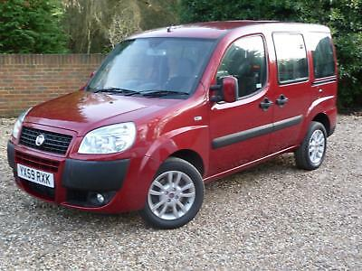 2009 (59) Fiat Doblo 1.4i Dynamic Wheelchair Access (WAV), VERY LOW MILEAGE