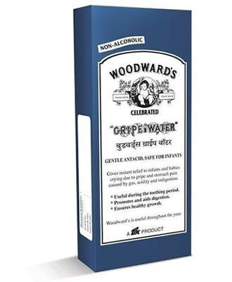 Woodward's GRIPE WATER Baby Infant Colic Gas Stomach Pain Indigestion 200 ML FS