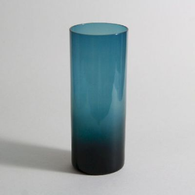 GERMAN MID MOD | A smoke TOPAS glass vase 6 inches (1965)