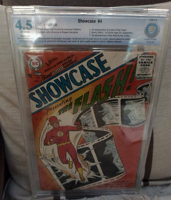 SHOWCASE DC Comics Silver age # 4 Bolland Collection 4.5 1st FLASH CGC CBCS