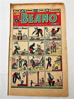 BEANO  # 405 April 22nd 1950 issue the comic early Sinbad
