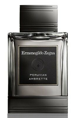 Ermenegildo Zegna Peruvian Ambrette EDT Perfume Spray Fragrance For Men 125ml~~