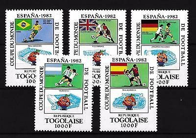 [59484] Togo 1981 World Cup Soccer Football Spain MNH