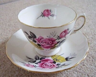 Royal Vale England bone china porcelain cup and saucer