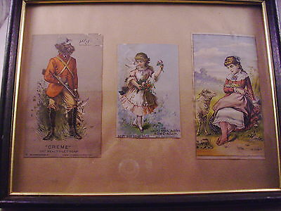 Vintage Advertising Cards Soap dated 1882   #35