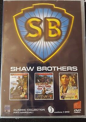 Cofanetto Shaw Brothers - 3 Dvd - Nuovo