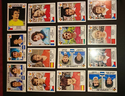 26 x Panini Espana 82 -  Spain 82 World Cup Football Stickers All Different !!