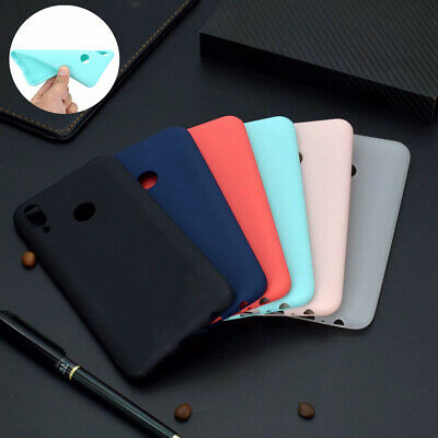 For Huawei P Smart 2019 Matte Slim Soft Full Cover Shockproof Silicone Case