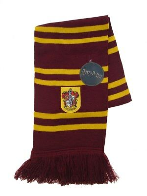 Sciarpa Ufficiale Harry Potter cod. HPSCR1 Gryffindor Grifondoro scuola Hogwarts