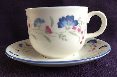 "ROYAL DOULTON EXPRESSIONS ""WINDERMERE"" China TEA CUP & SAUCER (11 available)"
