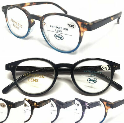 R889 Superb Quality Reading Glasses/Spring Hinges/Vintage Tortoiseshell Designed