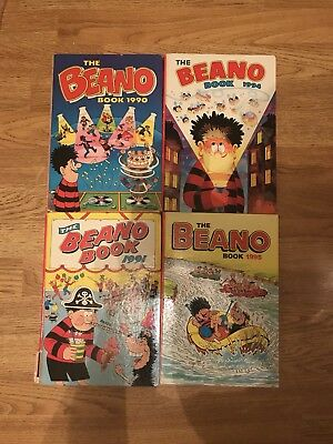 The Beano Annual 1990, 1991, 1994 and 1995