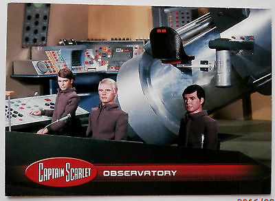 CAPTAIN SCARLET - Individual Trading Card #19, Observatory - Unstoppable 2015