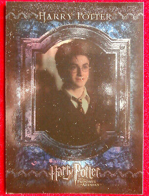HARRY POTTER - PRISONER OF AZKABAN - COMPLETE FOIL SET of 17 cards CARDS INC