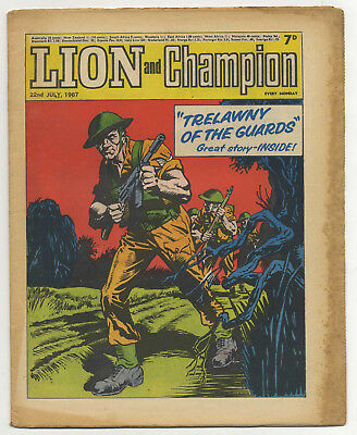 Lion 22nd July 1967 (very high grade) Robot Archie, Barracuda, The Spider...