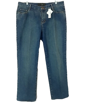Lane Bryant Jeans Size 16 Avg Medium Stretch Denim 36 X 30 Straight Leg Venezia