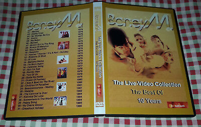 Boney M - The Live Video Collection - DVD SPECIAL FAN EDITION - Very Good!!!