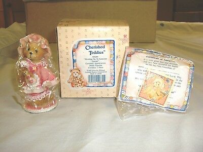 Cherished Teddies, 916285, Holding On To Someone Special, Limited Edition, 1993