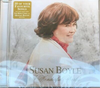 Susan Boyle - A Wonderful World [New & Sealed] CD