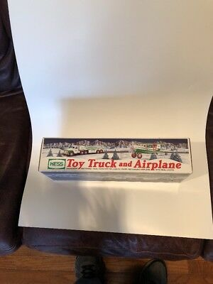 Hess 2002 Toy Truck And Airplane NIB! FAST SHIPPING