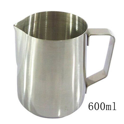 Ideal for Latte Art Coffee Steaming Cup Milk Pitcher Frothing Jug 600ml/20oz