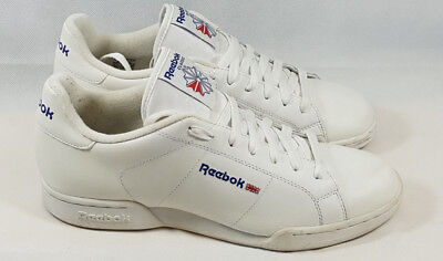 Reebok Classic Men's White Leather Trainers UK9 EU43