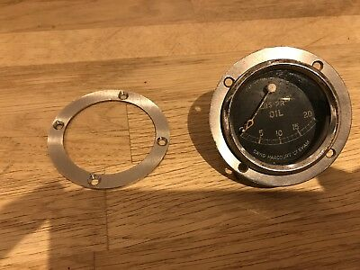 """2"""" Gauge Front Mounting Bezel Only - Smiths Austin 7 Ulster Special Etc"""