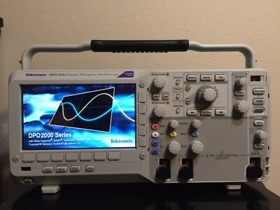 Tektronix DPO2012B 100 MHz, 2-Ch,1GS/s Digital Phosphor Oscilloscope+P6100 Probe