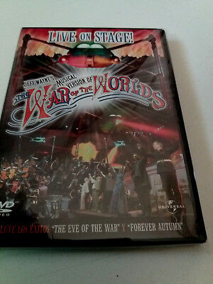 "Jeff Wayne's Musical Version Of ""the War Of The World's"" Dvd Live On Stage"