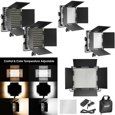 Professional Metal Bi-Color Dimmable 660 LED Video Light Studio, YouTube, 2 Pack