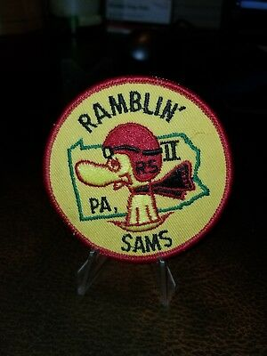 VINTAGE RAMBLIN SAMS PA PATCH Early Snoopy 1960s