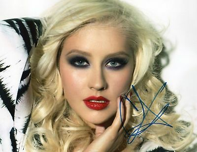 CHRISTINA AGUILERA AUTOGRAPHED SIGNED A4 PP POSTER PHOTO PRINT 6