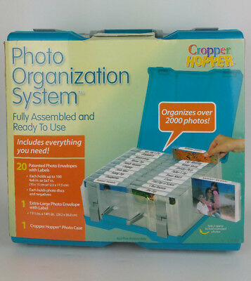NEW Cropper Hopper Photo Organizer Storage Case Acid Free Organization System