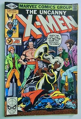 The Uncanny X-Men #132 (VF condition 8.0)  Free Shipping