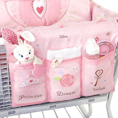 Disney Princess 3-n-1 Padded Cart Cover...Shopping Cart, HiChair or play mat
