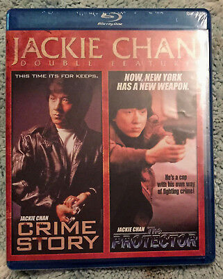 Jackie Chan 2-Movie Crime Story 1993 / Protector 1985 (Blu-ray NEW OOP R1 Shout)