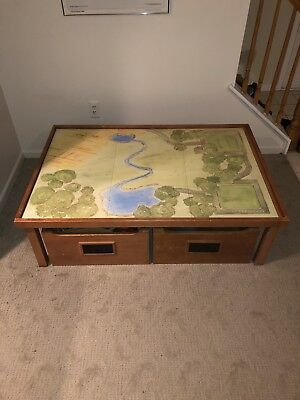 Pottery Barn Kids Activity Table With Drawers Activity Mat