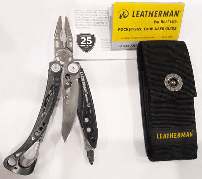 Brand New Leatherman Skeletool CX with New Button Sheath