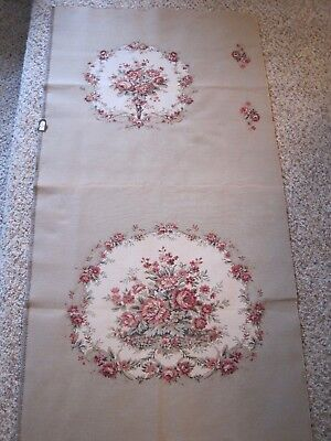Vintage Aubusson Style Tapestry for French Arm Chair - New Old Stock