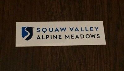Squaw Valley / Alpine Meadows Sticker