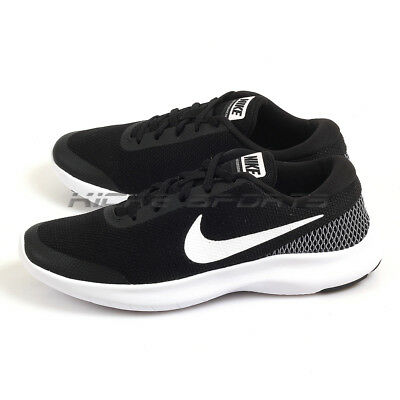758857b219d Nike W Flex Experience RN 7 Black White-White Running Shoes Sneakers 908996-